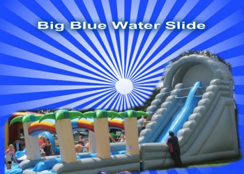 Big Blue Slide